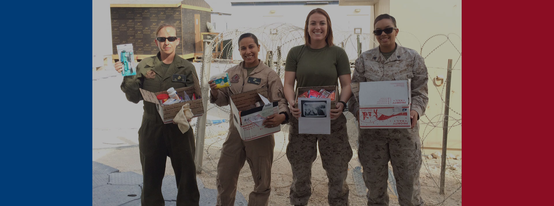 Sending Deployed Soldiers Care Packages
